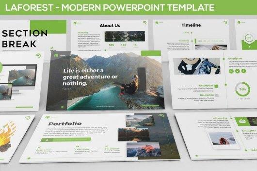 Laforest - Modern Powerpoint Template