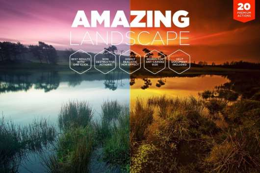 Landscape Photoshop Actions