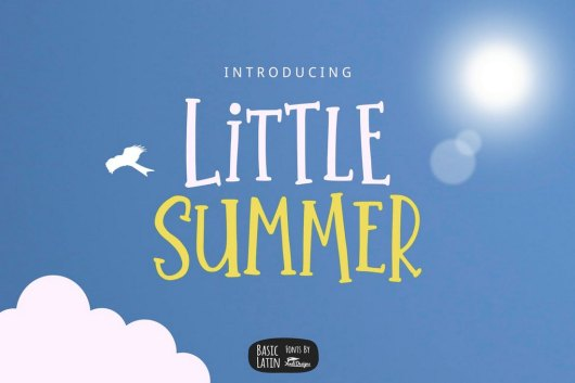 Little Summer - Creative Serif Font