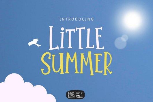 Little Summer - Creative Serif Font
