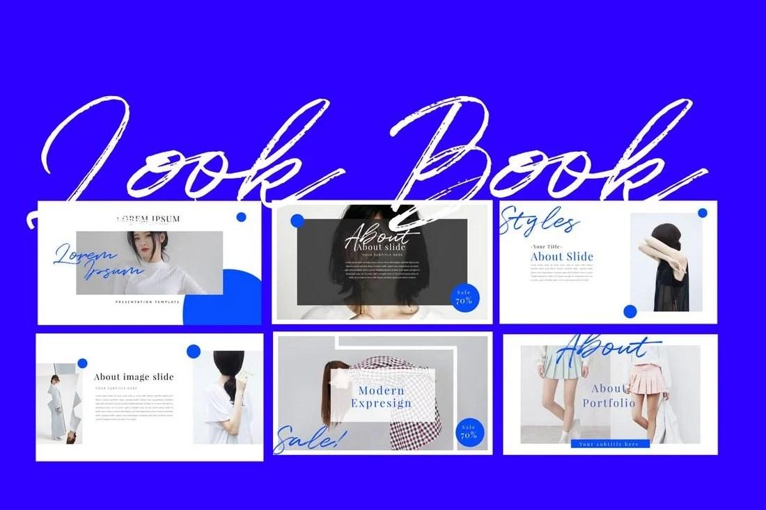 Look Book - Keynote Template