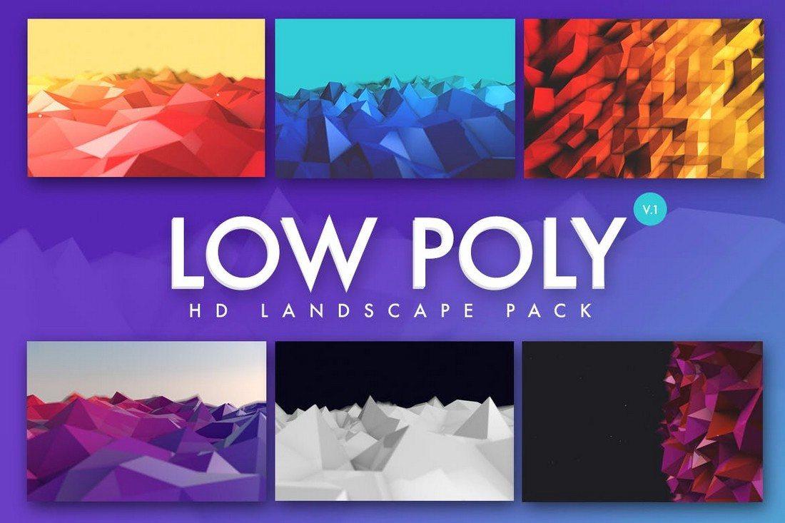 20+ Beautiful Geometric & Polygon Background Textures 56