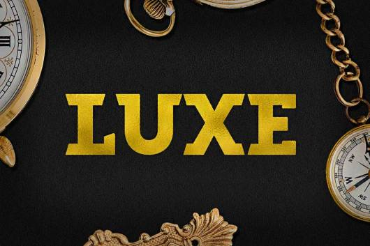 Luxe - Bold Luxury Font