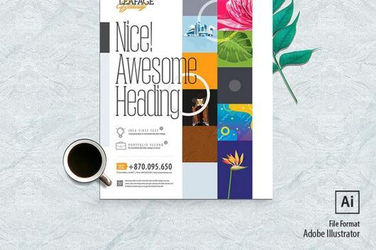 Minimal Creative Flyer & Poster Design