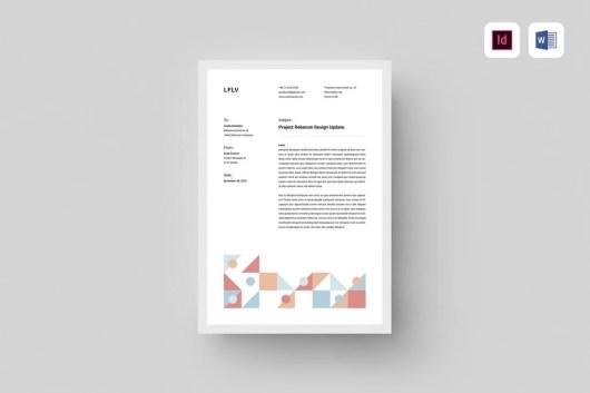 Minimal Microsoft Word Letterhead Template