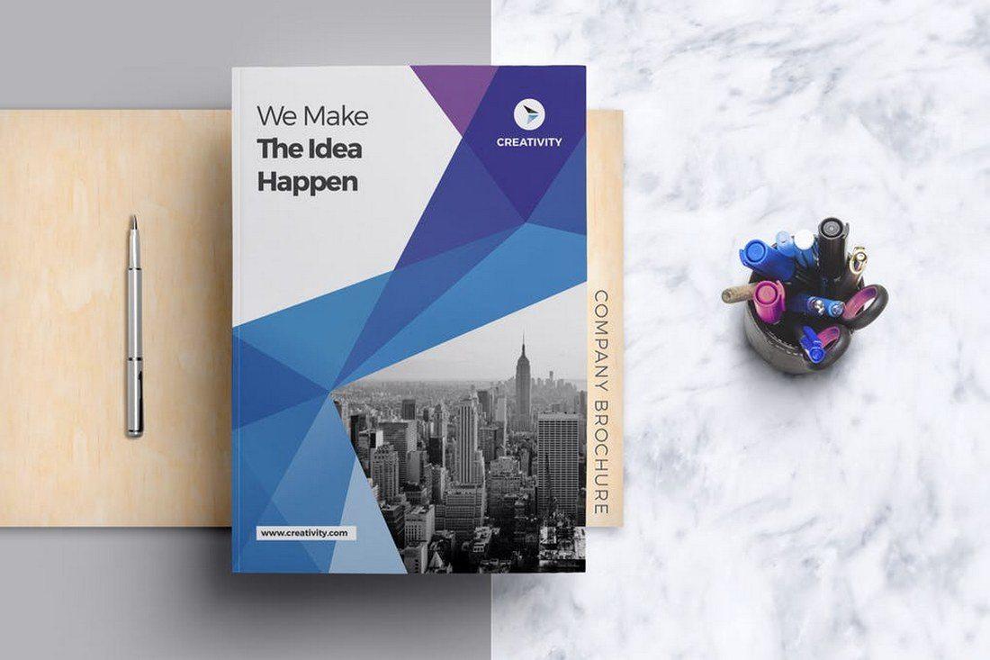 Modern Company Brochure Template - 70+ Modern Corporate Brochure Templates