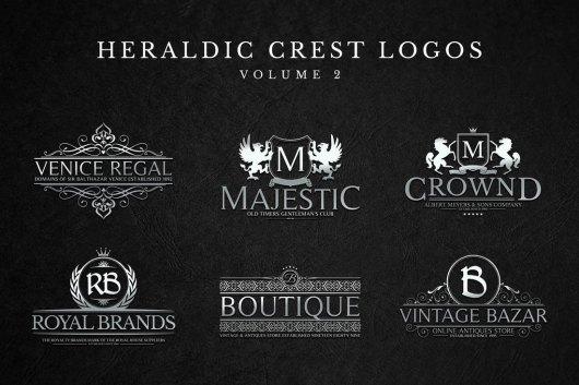 Modern Crest Logos & Sign Templates