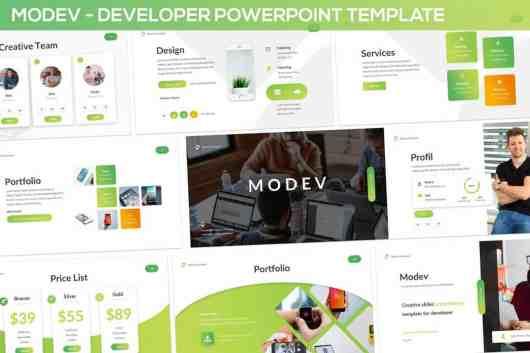 Modev - PowerPoint Presentation Template