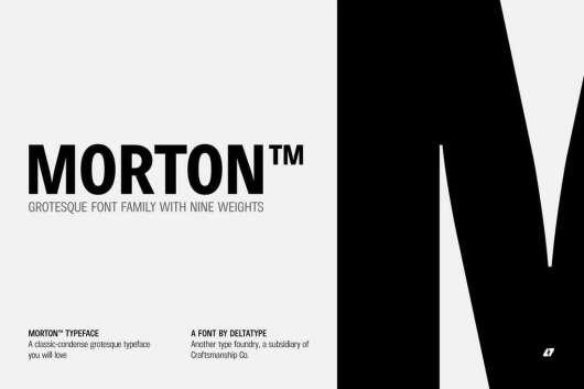 Morton Font Family