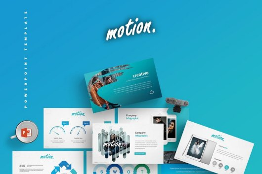 Motion - Cool Powerpoint Template