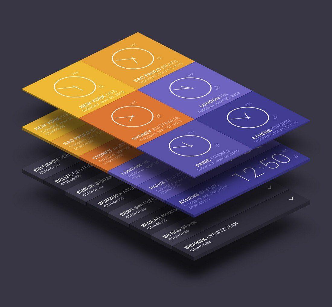 20+ Best Isometric Mockup Templates 38