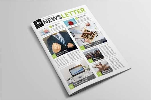 Multipurpose Newsletter Template for InDesign