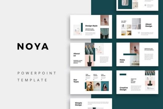 NOYA - Modern Powerpoint Template