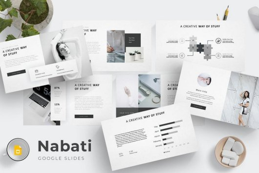 Nabati - Google Slides Template