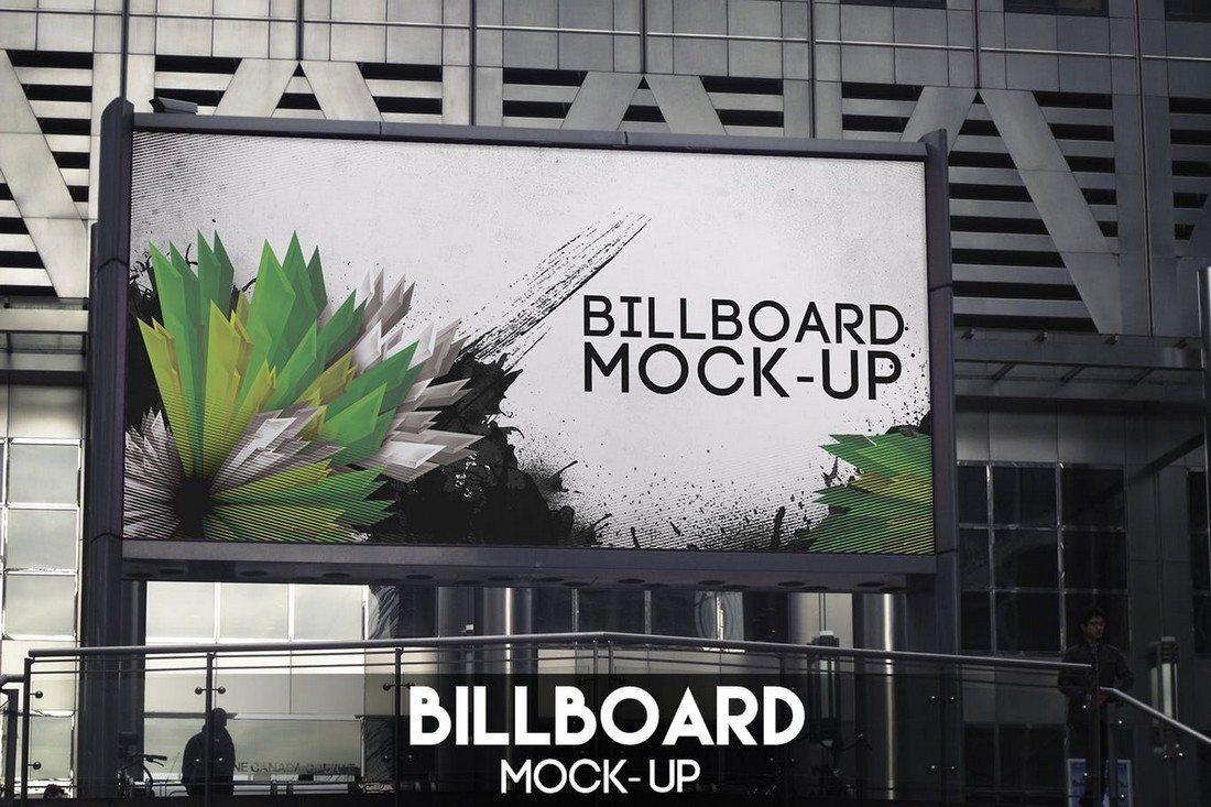 20+ Best Billboard Mockups 34