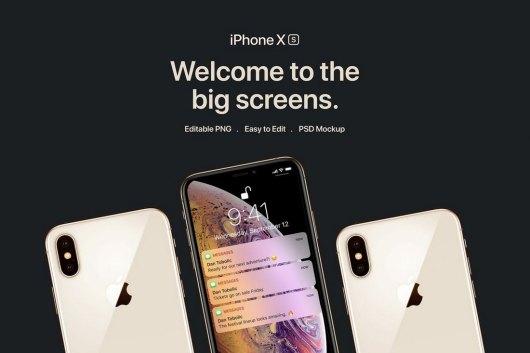 New iPhone XS Mockups