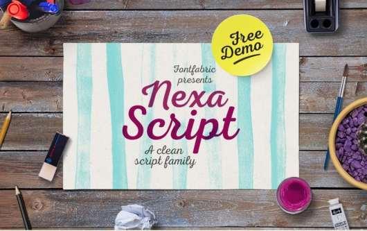 Nexa Script Font