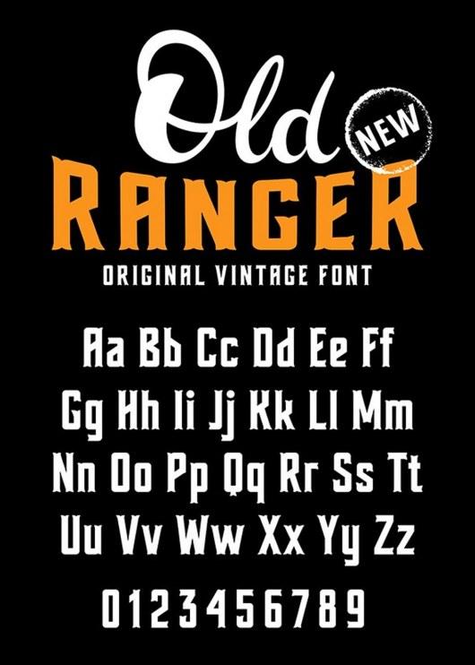 Old Ranger_font