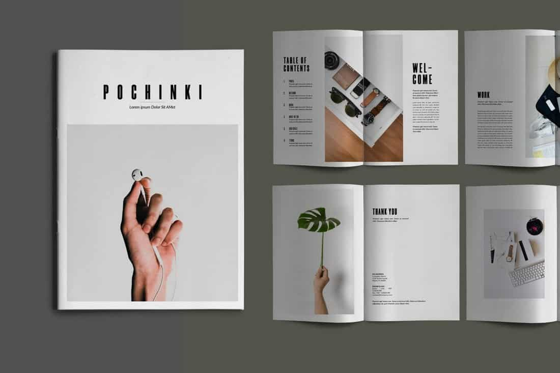 Pochinky - 16-Page Brochure Template