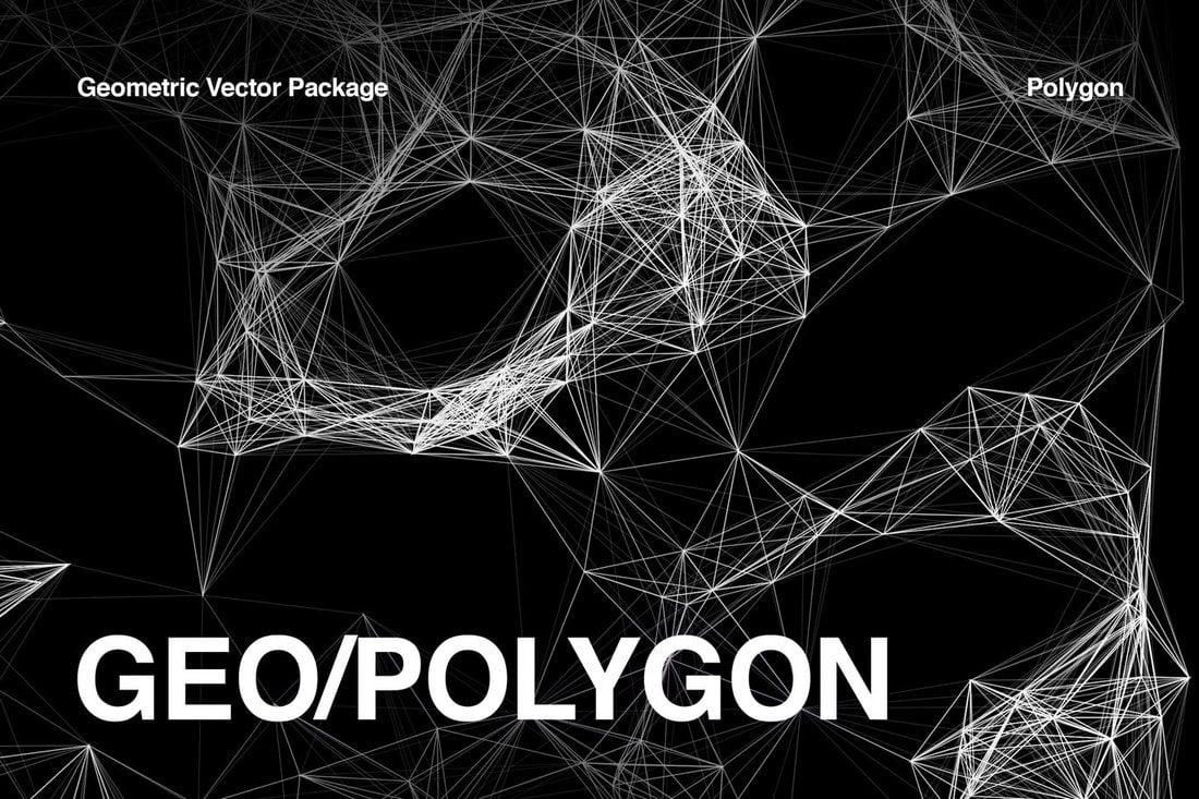 20+ Beautiful Geometric & Polygon Background Textures 58