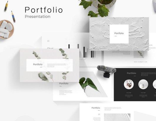 Portfolio - Free Powerpoint Presentation