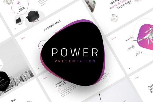 Power - Creative Powerpoint Template