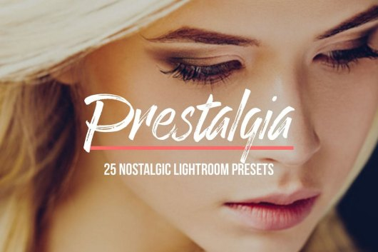 Prestalgia – 25 Retro Lightroom Presets