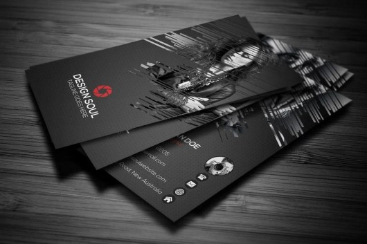 Pro Photography Business Card Template