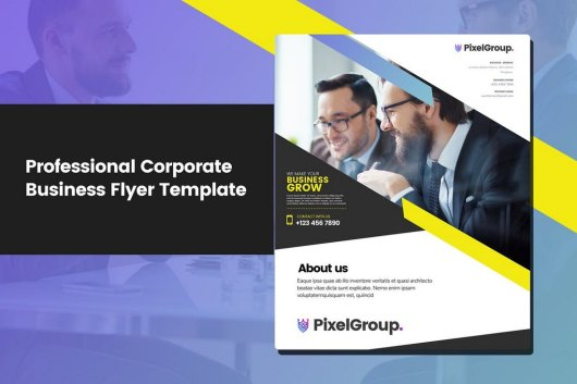 Professional Corporate Business Flyer Template