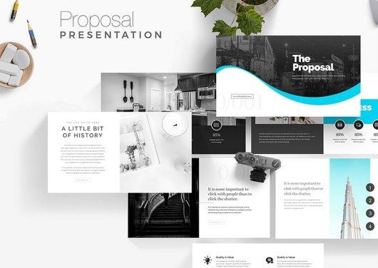 Proposal - Free Presentation Template