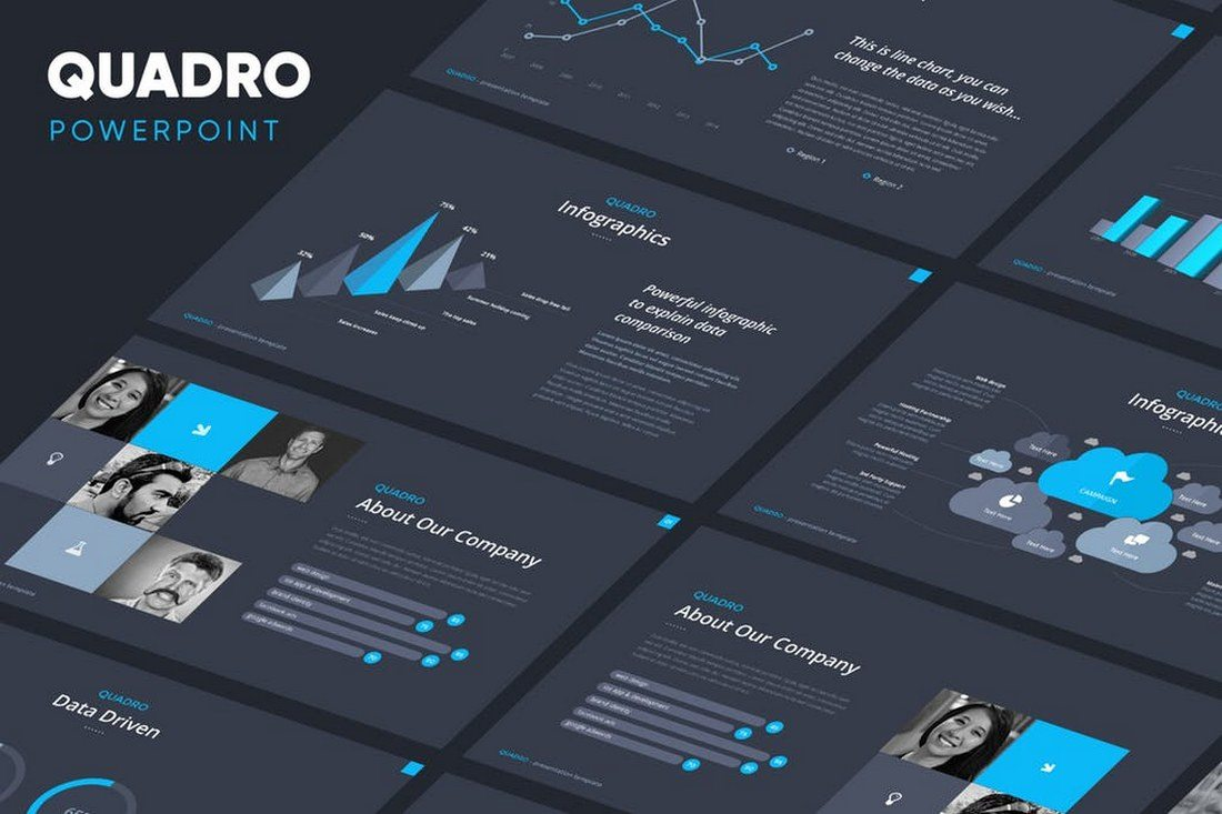 60+ Beautiful, Premium PowerPoint Presentation Templates 46