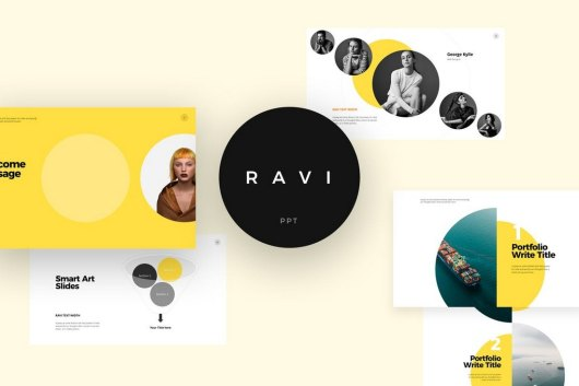 RAVI - Creative PowerPoint Template