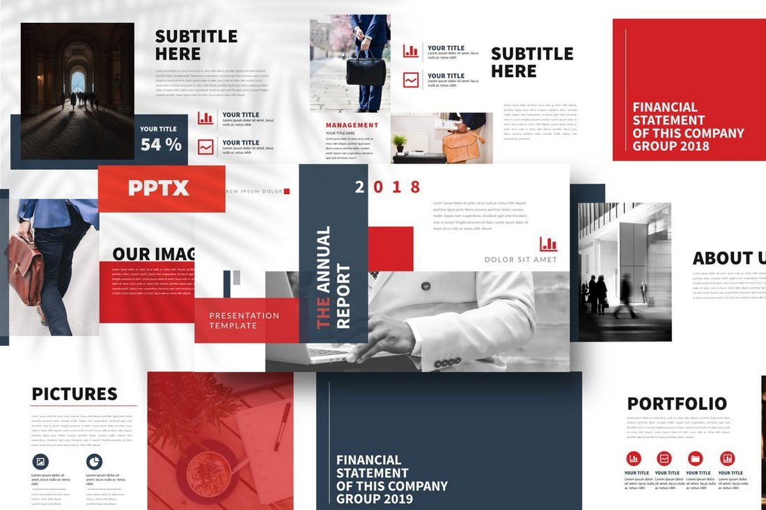 Report - Powerpoint Template
