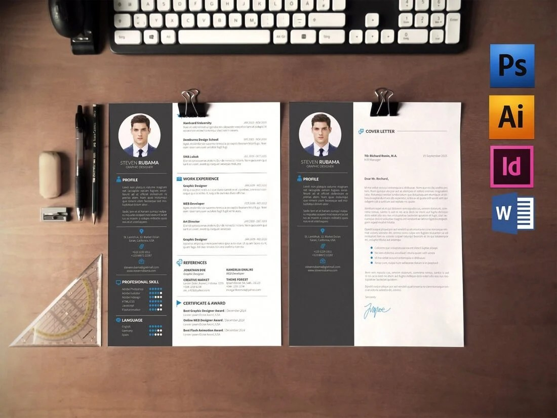 The Best CV & Resume Templates: 50 Examples 19
