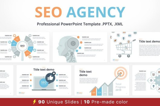 SEO Agency - Animated PowerPoint Template