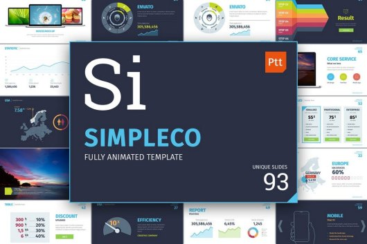SIMPLECO - Animated Powerpoint Template