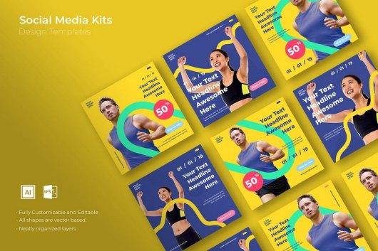 SRTP - Social Media Kit Templates 2