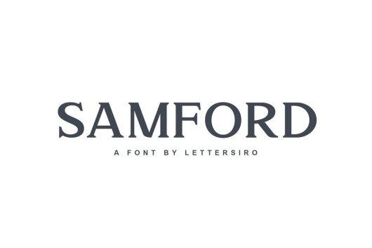 Samford - Modern Serif Font