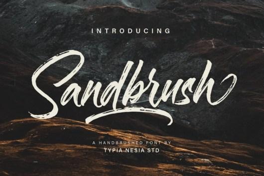 Sandbrush Script Font