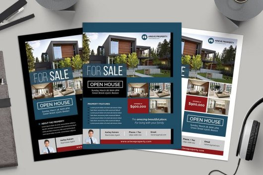 Simple Real Estate Flyer Template