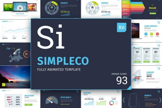 Simpleco - Animated Keynote Template