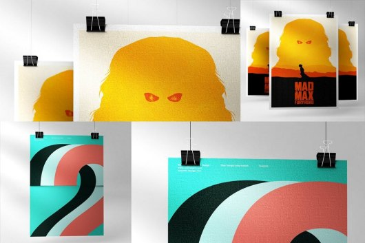 Single and Multiple Poster Mockups
