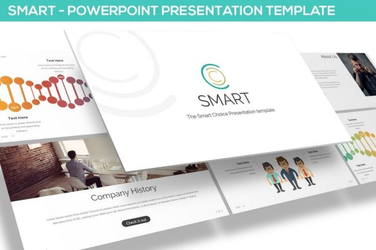 Smart - Technology Powerpoint Template