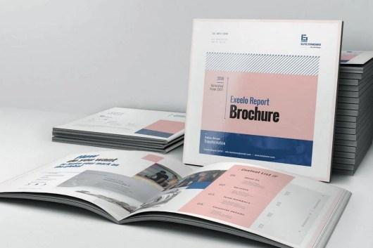Square Annual Report Template