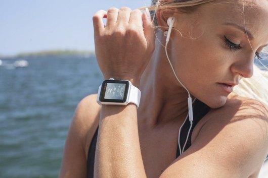 Stylish Apple Watch Fitness Mockup
