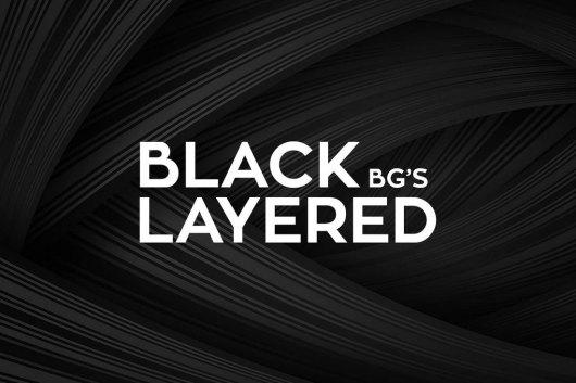 Subtle Black Layered Backgrounds