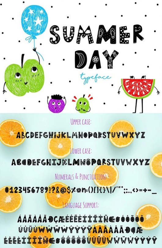 Summer Day Typeface 2