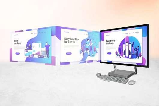 Surface Studio Computer Mockup