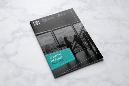 Swiss Annual Report Template