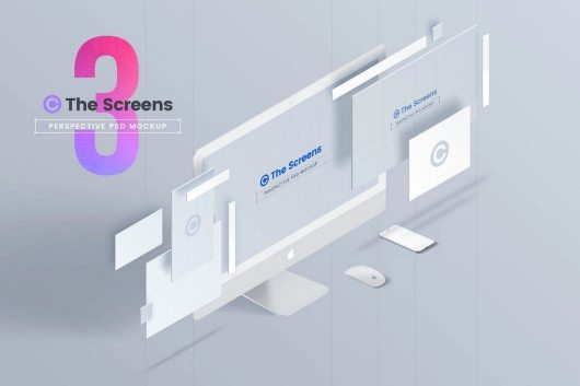 20 best website psd perspective mockups irc web services